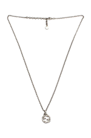 Pre-owned Interlocking G Pendant Necklace