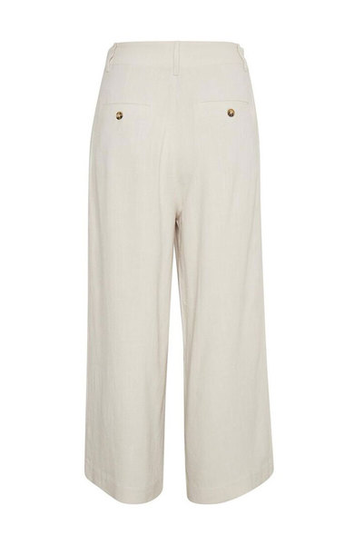 Beige Reanna Trousers Part Two Luźne Spodnie