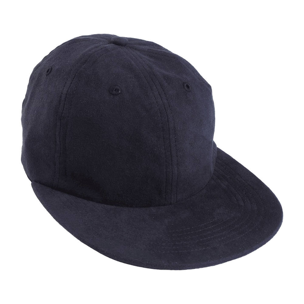 Light Faux Suede Falt Cap