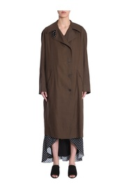 TRENCH COAT WITH RAGLAN SLEEVES