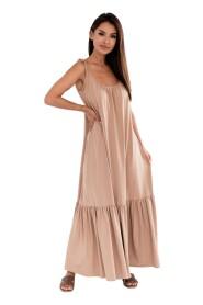 Bawełniana sukienka BALI maxi