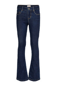 FLARED DNM JEANS