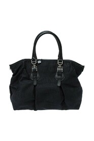 Signature Canvas and Leather Satchel