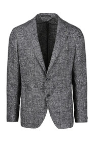 UNLINED CHECK BLAZER