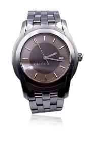 Brugt Rustfrit stål Mod 5500 XL Armbåndsur Bicolor urskive
