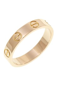 18K Mini Love Ring Metal