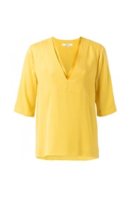 DOUBLE V-NECK TOP 1901110-913