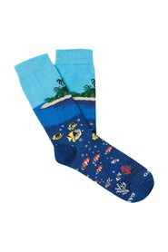 Sea and Island Socks