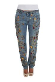 Roses Heart Jeans