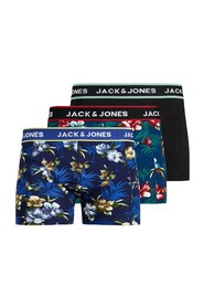 Jacflower Trunks 3 Pack Underwear