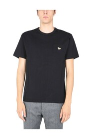 T-SHIRT WITH FOX PATCH