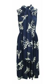 Pre-owned Elegant  Dress with Print