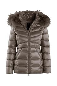WOMAN DOWN JACKET REAL FEATHER REAL FUR 5CM