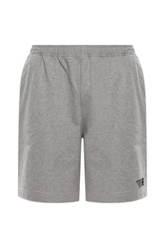 Branded sweat shorts