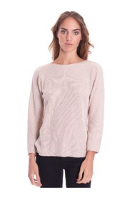 BOAT NECK SWEATER WITH LUREX