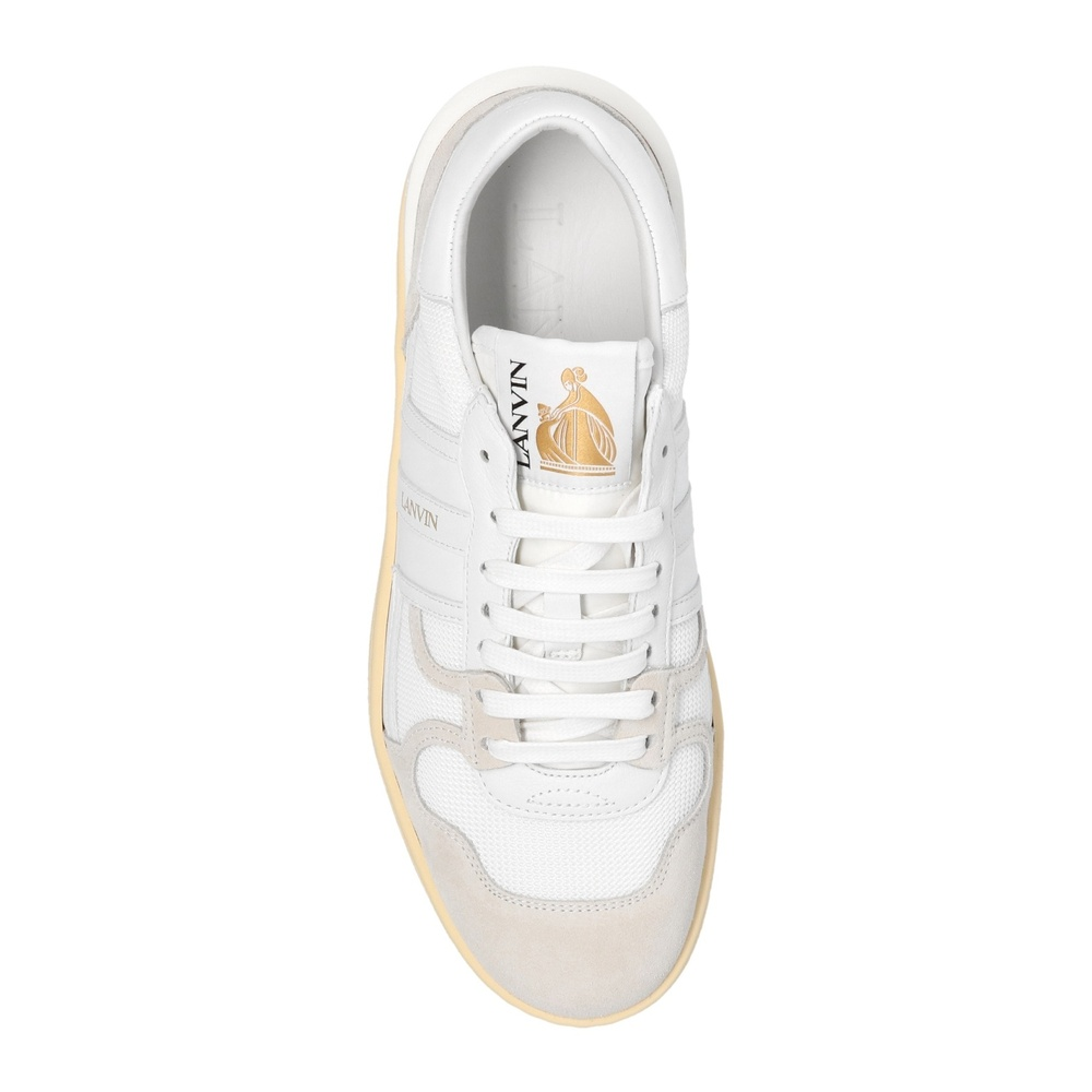 Lanvin cream Clay Low sneakers Lanvin