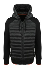 QUILTED NYLON INSERT JACKET