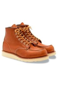 Red Wing Classic Moc Toe sort læder