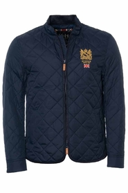 Morris Trenton Quilted Jacket Old Blue