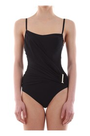 CALVIN KLEIN KW0KW00189 WRAP ONE PIE swimsuit  sea and pool Women BLACK