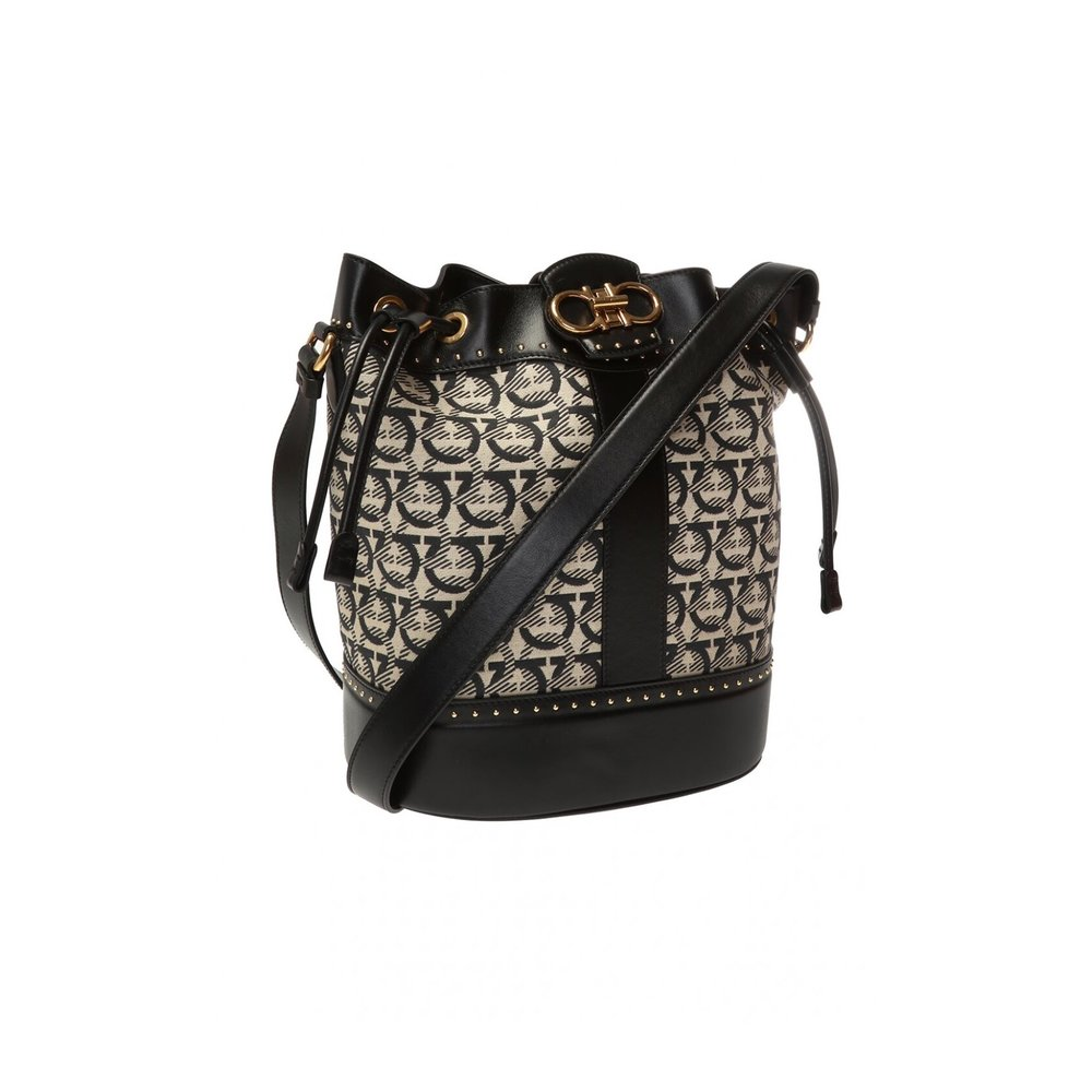 Salvatore Ferragamo BLACK 'Quilting shoulder bag Salvatore Ferragamo