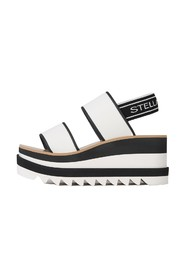 Wedge Sandals with logo