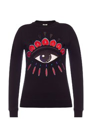 Eye motif sweatshirt
