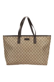 Pre-owned GG Plus Large Leather Tote Bag