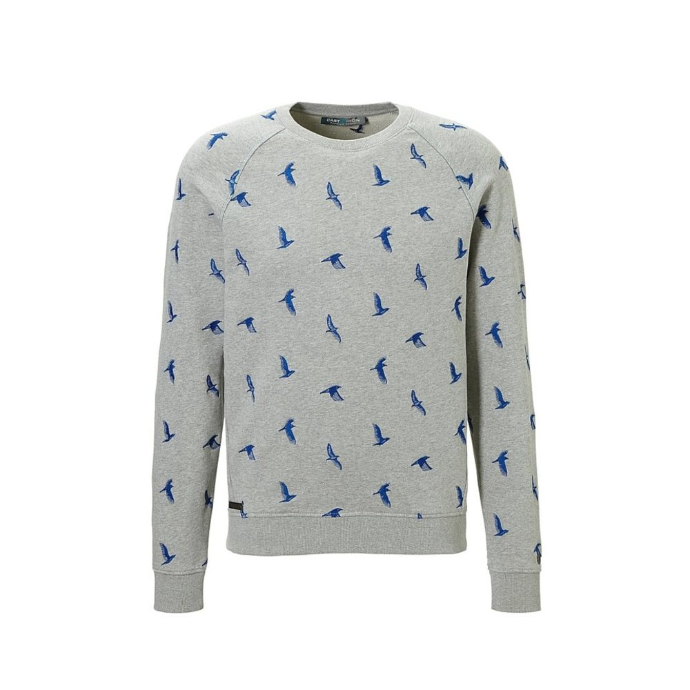Crewneck Light Cotton Birds