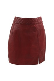 Leren skirt