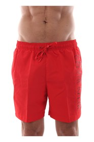 CALVIN KLEIN KM0KM00291 MEDIUM DRAWSTRING swimsuit  sea and pool Men RED