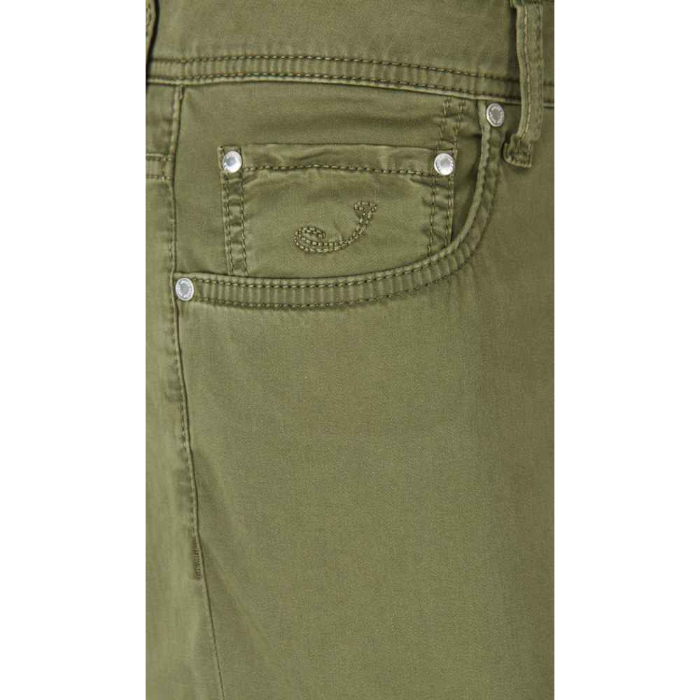 ARMY GREEN Slim Fit Jeans | Jacob Cohën | Jeansy slim fit