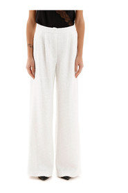 Sequined palazzo pants