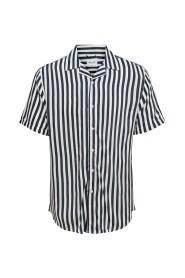 Overhemd met korte mouwen Gestreept