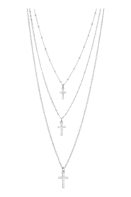 Necklace Shimmer Cross