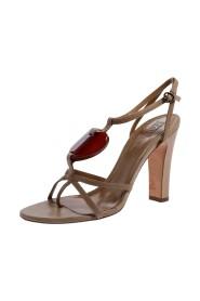 Heart T Strap Sandals