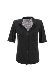 Shirt with elbow sleeves