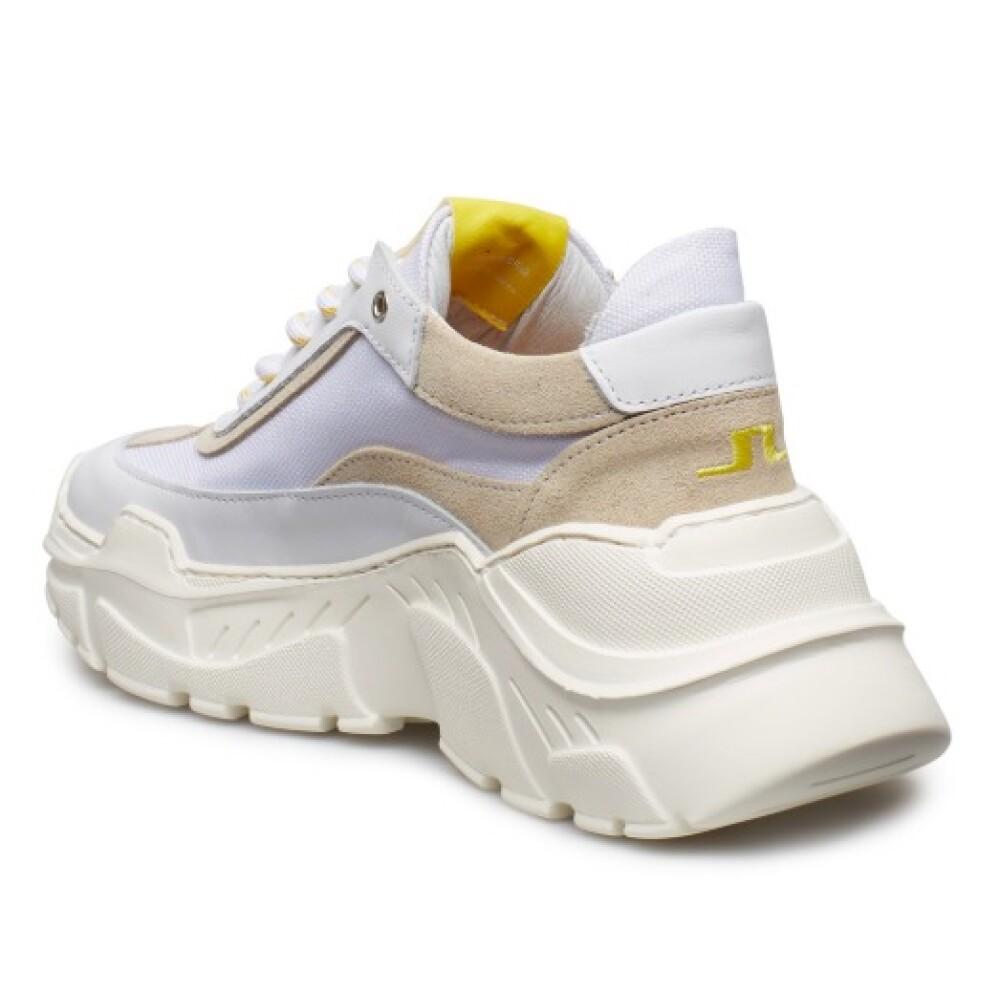 Hvit  Billie Sneaker  J.Lindeberg  Sneakers - Sko Til Herre