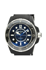 Pre-owned  J12 Marine 42 Ceramic Rubber Automatic Watch H2558