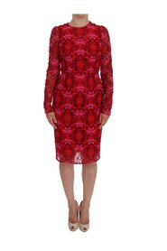 Floral Ricamo Sheath Dress