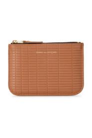 Wallet Brick Line leather purse