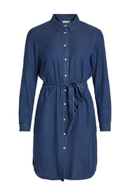 VIBISTA DENIM BELT DRESS / SU
