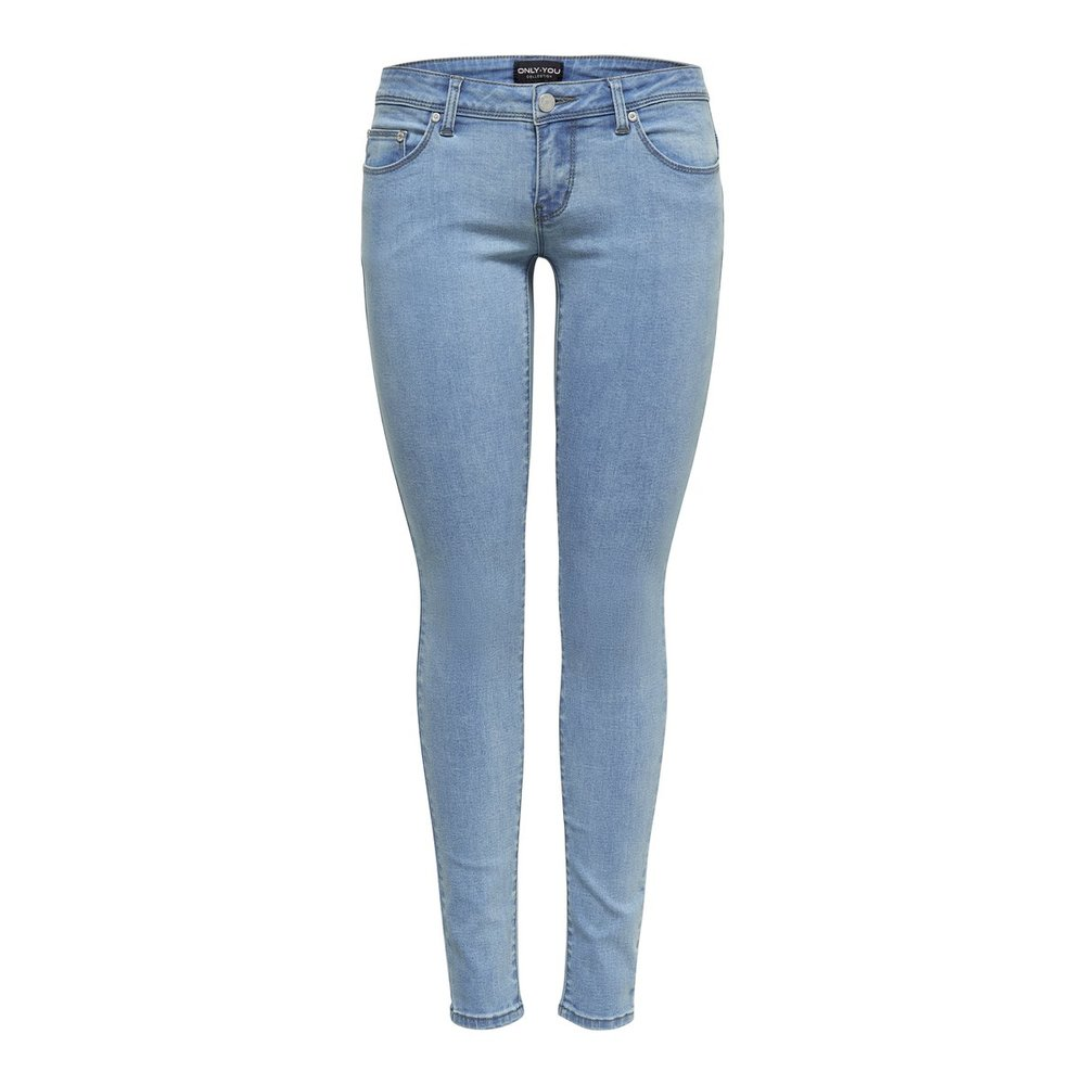 Skinny jeans Wonder coral low