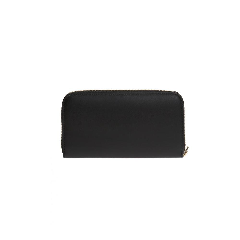 Salvatore Ferragamo BLACK Wallet with a logo and 'Gancini' motif Salvatore Ferragamo