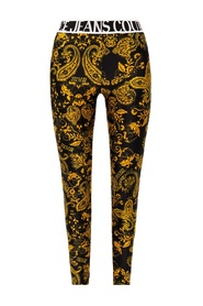Barocco-printed leggings
