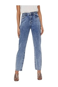 Loose Fit Jeans High Waist