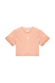 Cropped T-shirt with logo