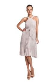 Eloise Pleated Cocktail Dress
