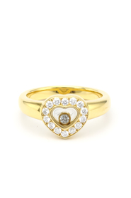 Pre-owned Chopard Happy Diamond 82/1084 Yellow Gold (18K)