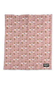 cotton blanket with iconic prints